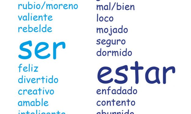 "USOS EXCLUSIVOS DEL VERBO ""SER"""