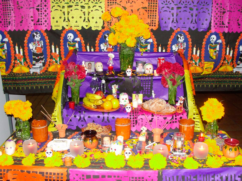 altar de muesrtos